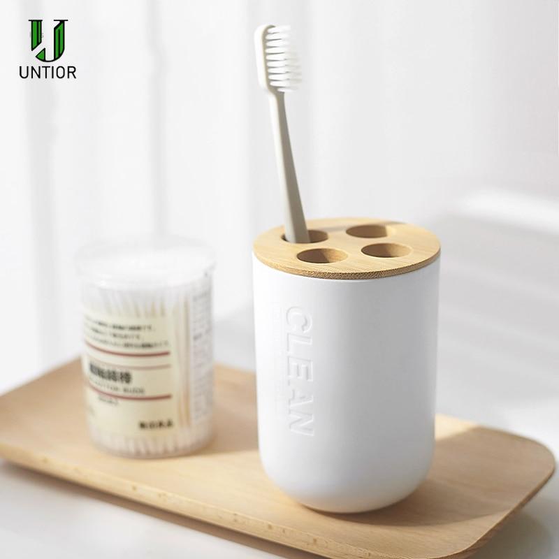 Porta escova de dentes para banheiro untior,