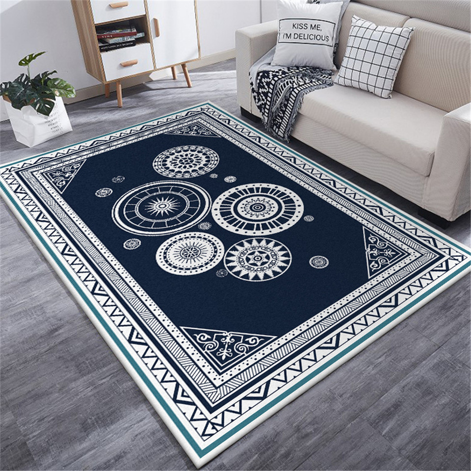 Ethnic Style Carpet Geometric Disc