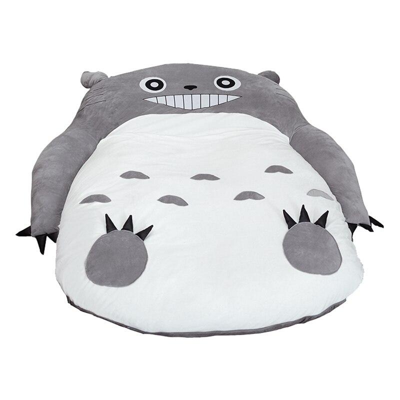 Mon voisin Totoro Tatami couchage lit Double pouf canapé pour bébé dessin animé chaud Totoro Tatami matelas