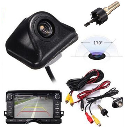 High-definition Car Mounted Night Vision Webcam Car Rear View Waterproof Webcam Foreign Trade Cross Border Supply Manufacturers