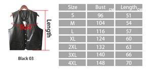Image 5 - Leather Jacket Hot Sale Vest Mens Sleeveless Punk Pocket Loose Fit Black Brand Motorcycle Waistcoat Coats PU Male Streetwear