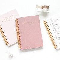 Kawaii Leuke Eenvoudige Ontwerp B6 Notebook Briefpapier Dagboek Agenda Pocket Notepad Planner Wekelijkse Boek Reizen Schoolbenodigdheden Sl2327