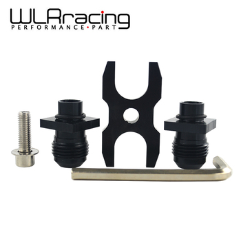 WLR RACING - Oil Cooler Adapter Fitting Kit For BMW E36 E46 Euro E82 E9X 135/335 E46 M3 E90 E92 WLR-OCA01 image