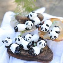 Новинка, милые керамические палочки для еды с рисунком панды, держатель палочек для еды, практичная модная кухонная посуда
