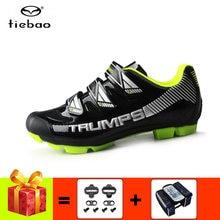 Tiebao обувь для горного велосипеда мужские профессиональные