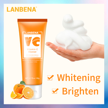 LANBENA Vitamin C Facial Cleanser Collagen Face Wash Whiteni