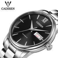 CADISEN Men Watch Automatic Mechanical Watches Role Date Week Top Luxury Brand Japan NH36A Wrist watch Clock Relogio Masculino