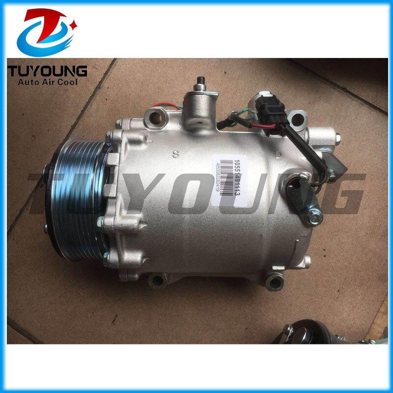 Gorące nowe produkty 38800RZVG01 38800RZVG020M2 38810RZVG01 38810RZVG02 7586690dTRSE09 kompresor dla Honda CRV 2,0