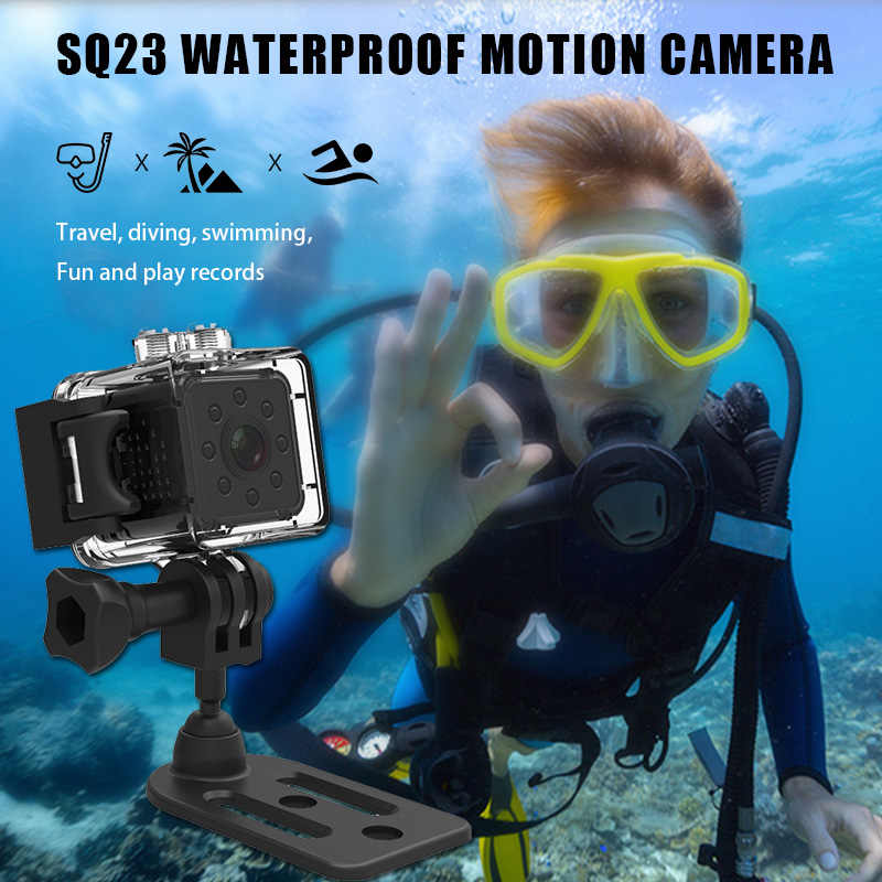 Cámara Original SQ13 SQ23, Mini cámara SQ12 SQ11 HD 1080P 480P, grabadora de vídeo de visión nocturna, Micro Cámara, compatible con tarjeta TF oculta