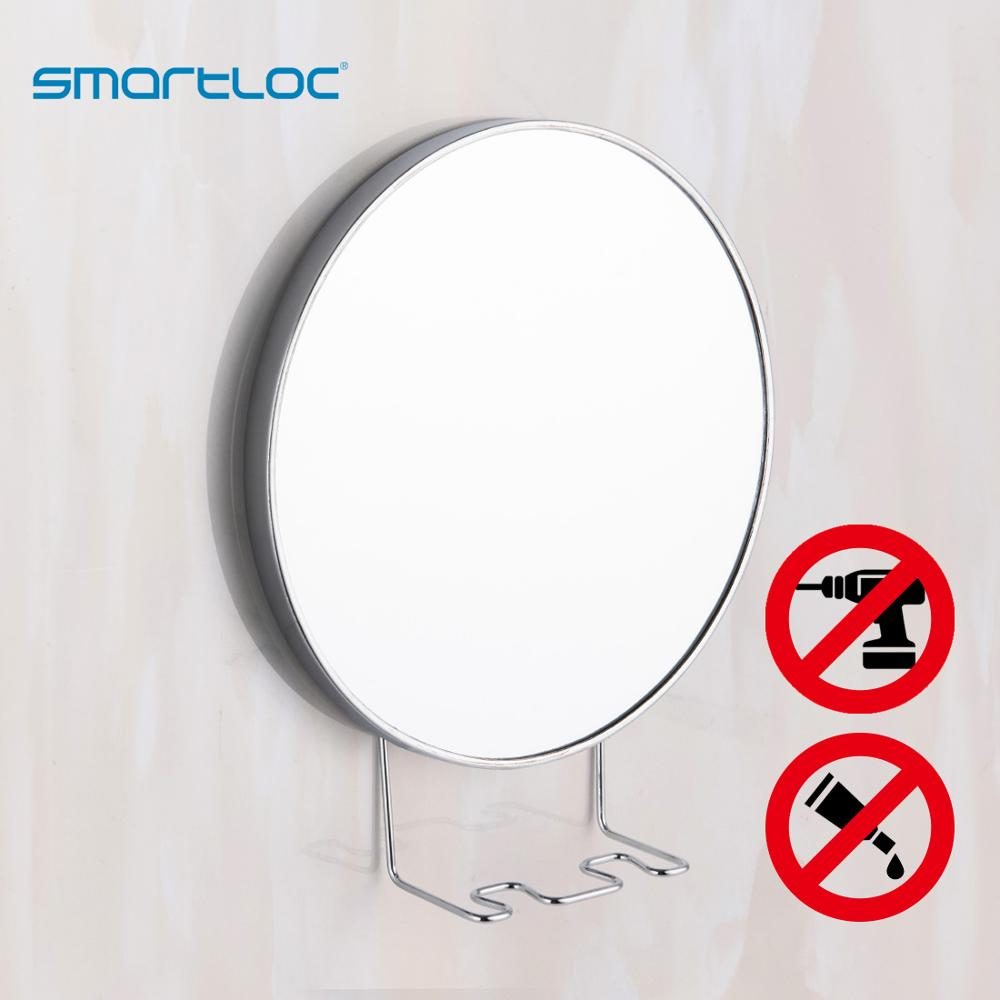 smartloc 20cm 5X Magnifying Suction Cup Mirror Bronze-colour Mirror Smart Bathroom Mirror Makeup Mirror Mirror For home shaving