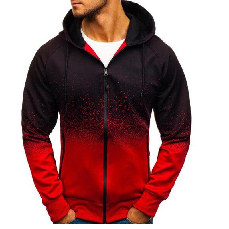 2020 Men's Gradient Jacket Wear Casual Camouflage Jacket Slim Handsome Spring Summer Autumn Printing Dot
