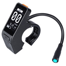New Hot Electric Bicycle Sw102 Lcd Mini Waterproof Speed Controller for Bafang Bbs01 Bbs02 Bbshd Mid Motor(China)