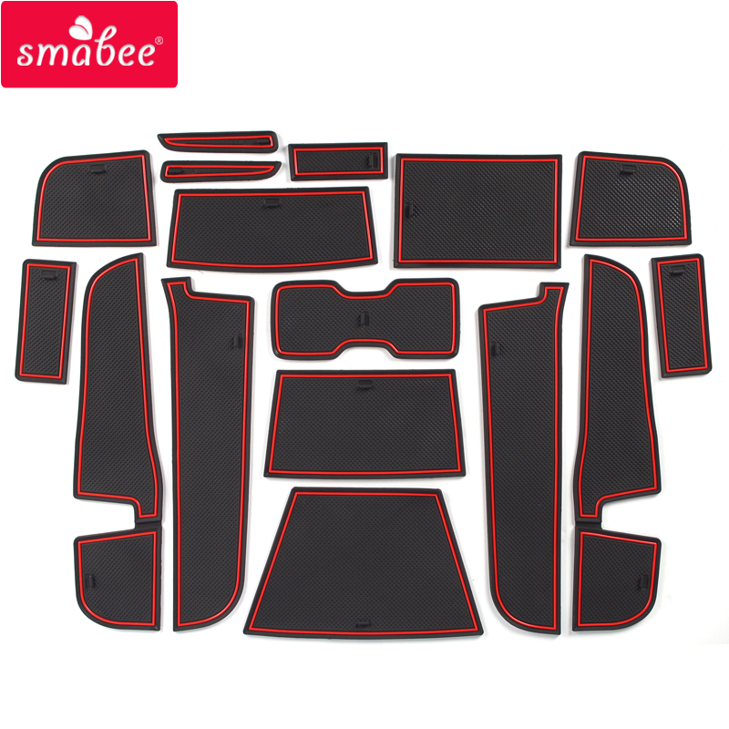Smabee Anti-Slip Gate Slot Mat For Maxus T60 T70 Rubber Coaster Cup Holders Non-slip Mats Accessories Cup Mat