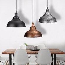 Lámparas colgantes clásicas Retro Industrial candelabro colgante lámpara de loft luces E27 comedor restaurante habitación lámpara