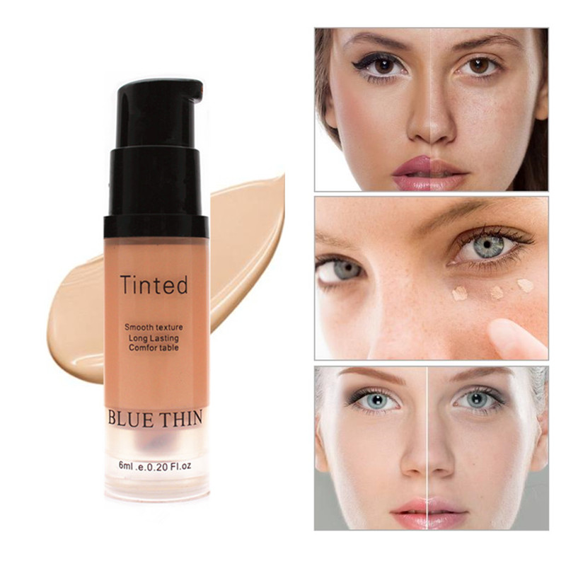 1pc Face Concealer palette Cream Full Cover Makeup Liquid Corrector Foundation Base Make Up For Eye Dark Circles Facial Cosmetic image