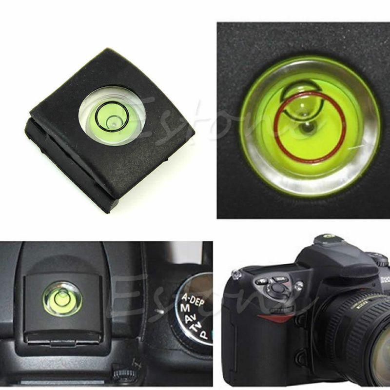 Крышка горячего башмака SIV с пузырьковым уровнем для Canon Nikon Olympus Pentax DSLR