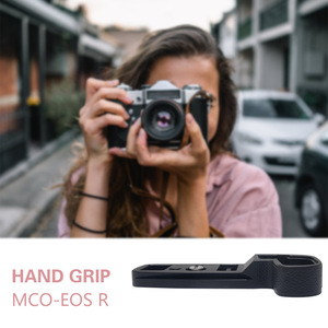 Image 4 - Mcoplus MCO EOSRG אלומיניום מתכת יד גריפ Bracket מחזיק עבור Canon EOS R ראי דיגיטלי שחור מצלמות אבזרים