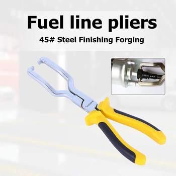 9 인치 연료 라인 가솔린 클립 펜치 호스 릴리스 분리 제거 파이프 수리 도구-에서필러부터 도구 의