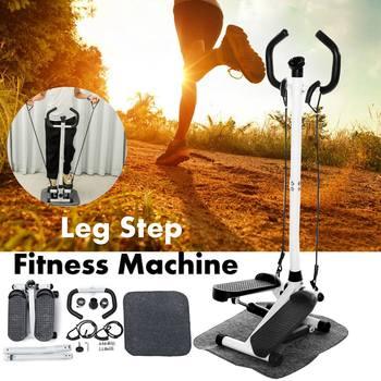 Mini Pedal multifuncional para perder peso, equipo de Fitness, máquina de correr hidráulica silenciosa con barra de mango y Monitor LCD