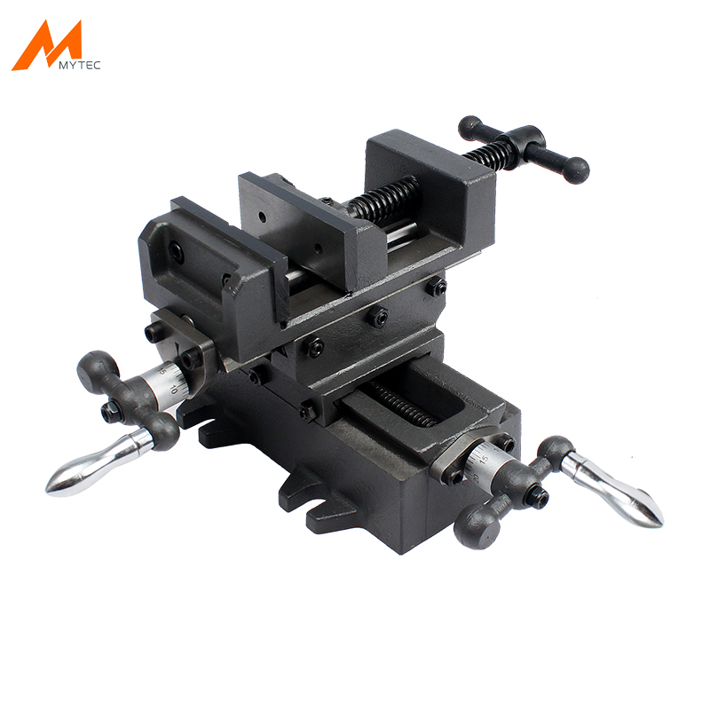 2 Way 3-Inch Drill Press X-Y Compound Vise Cross Slide Milling Vice