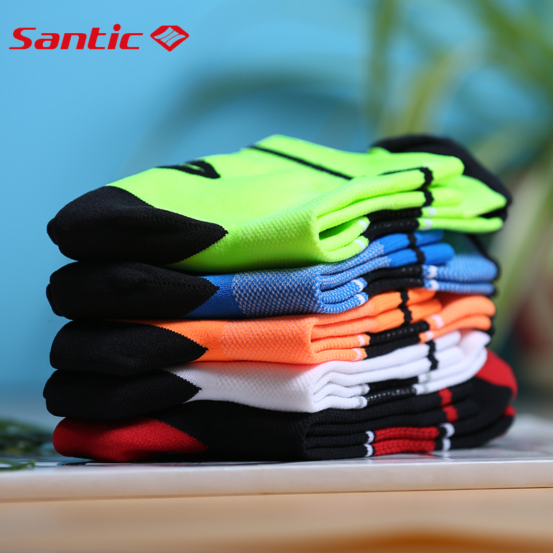 Santic-Cycling-Socks-Men-Women-Breathable-Bike-Bicycle-Socks-Anti-sweat-Outdoor-Sports-Ciclismo-5-Colors