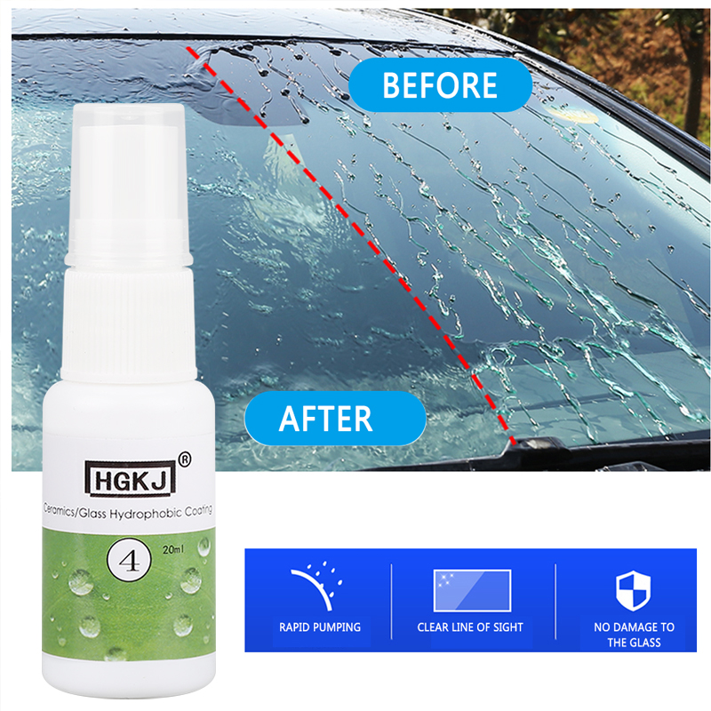 Auto Car Coating Windows Waterproof Nano Hydrophobic For Ceramic Glass Hydrophobic Coating Automotive Cleaning Protector TSLM1