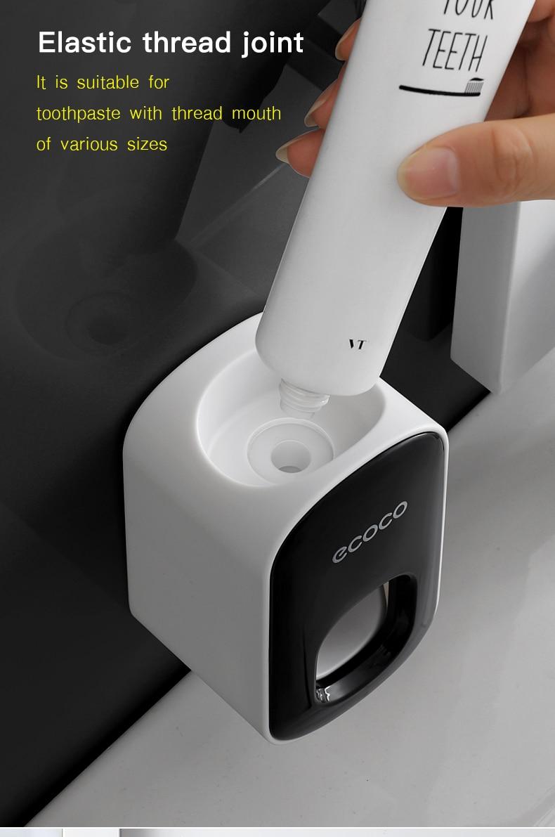 Αυτόματο μηχάνημα τοίχου οδοντόκρεμας με φωτισμό. Msow