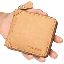 Carteira zip magro para cartões moedas de dinheiro