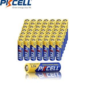 Image 3 - Baterías de carbono y Zinc para termómetro Digital, baterías de 1,5 V Extra resistentes, 50 AA R6P + 50 AAA R03P, combo de 100 piezas