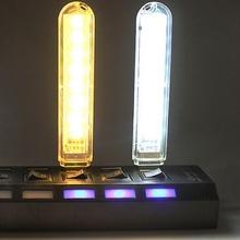 3 8 Leds USB Lights Mini Portable USB LED Book Light DC5V Ultra Bright Reading Book Lamp For Power Bank PC Laptop Notebook cheap FangNymph CN(Origin) NONE Book Lights LED Bulbs