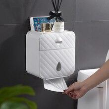 Тканевая Коробка Чехол для салфеток крышка Держатель контейнер водонепроницаемый настенный для ванной комнаты MF999