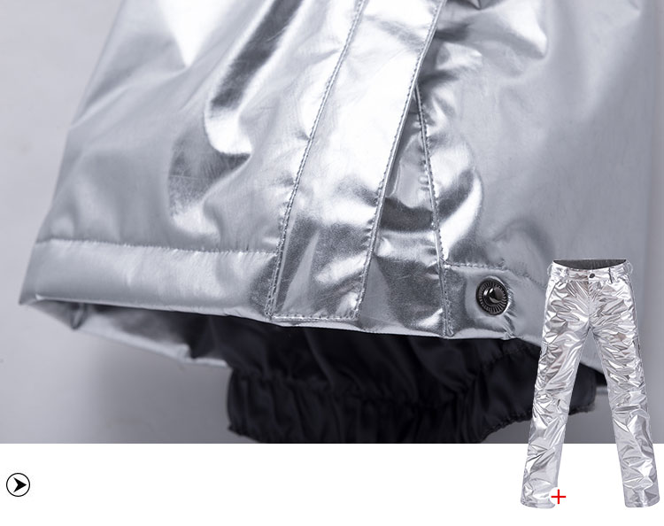10k impermeável à prova de vento jaqueta + calça de neve