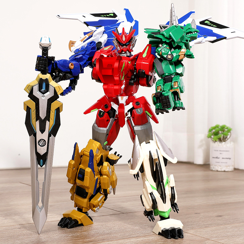 Genuíno iron dragon 2 brinquedo de deformação, brinquedo de montagem/montagem para meninos, transformers