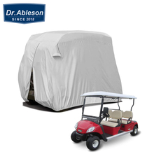2 Passenger Golf Cart Cover 210D Oxford Cloth Outdoor Waterproof Dust Protective Covers Size 234/152*132*168cm