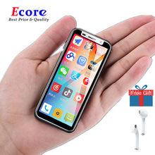 Android Telefone süper Mini taşınabilir akıllı telefonlar ucuz Melrose 2019 Ultra ince 3.4 ''parmak izi kimliği 5MP 4G 3GB RAM cep telefonları