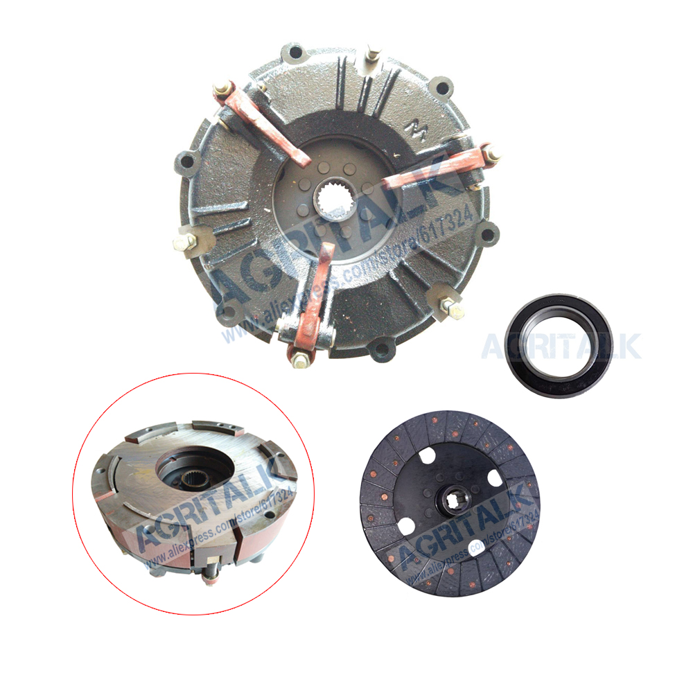 The Dual Stage 9 Inches Clutch With Extra Disc And Release Bearing For Fengshou Lenar LE254 / LE274, Part Number: 9210020BBS