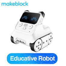 Makeblock Codey Rocky Programmable Robot, Fun Toys Gift to Learn AI, Python, Remote Control for Kids Age 6+(China)