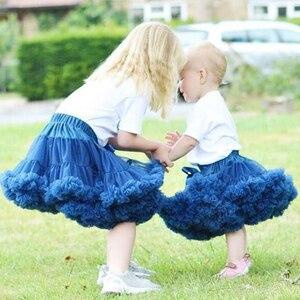 Детская юбка-пачка для маленьких девочек от 0 до 2 лет, пышные Детские балетные юбки, вечерние фатиновые Юбки принцессы для танцев для девоче...