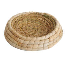 Handwoven Birds Nest Corn Leaves And Straw Incubation Bed Courtship Breeding House For Pigeon/Dwarf Rabbit/Bunny/ Dove/Hamster/
