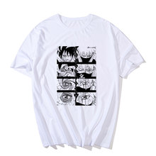 Anime Naruto Fashion Kaos Wanita T-shirt Naruto Cosplay Kaus Naruto Kakashi Action Figure Tee Shirt Atasan Wanita(China)