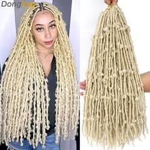 Crochet-Hair Blonde Faux-Locs Pre-Looped Long-Distressed 18-24inch-613