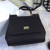 Luxury brand New Arrivals Female Bags Classic Elegant Lady Fashion Shoulder Bag Solid Color Green Brown Blue Red Gold Black Tote
