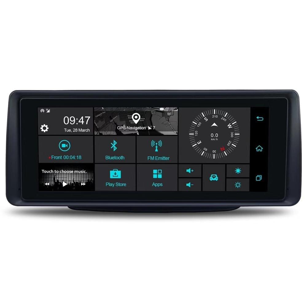 6.86 Inch 3G Android Dual Lens Car DVR GPS Navigator  Full HD 1080P Dash Camera Auto Video Registrar Navigation Recorder