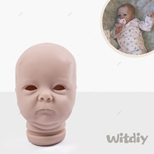 Witdiy Tink 18 Inches Reborn baby doll kit Unpainted reborn kit Lifelike kit Reborn doll kit blank parts