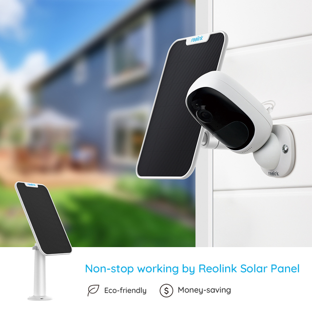 Reolink Argus 2 and Solar panel Rechargeable Battery wireless camera WiFi 1080P Full HD Outdoor Indoor Camera two-way audio PIR 3