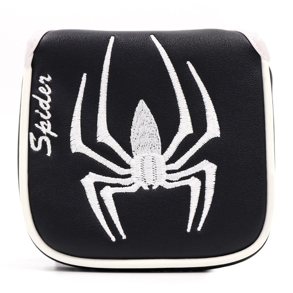 New Mallet Golf Putter Headcover PU Leather Spider Design Head Cover For Putter