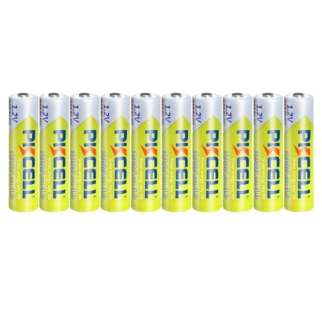 10PCS PKCELL 1.2v NI-MH AAA Battery 3A 1000MAH AAA Rechargeable Battery aaa nimh battery batteries rechargea for flashlight toys 3