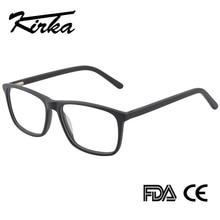 Черные очки мужские ацетатные очки мужские оправы для очков оптические прозрачные линзы оправа для очков при близорукости мужские оправы для очков