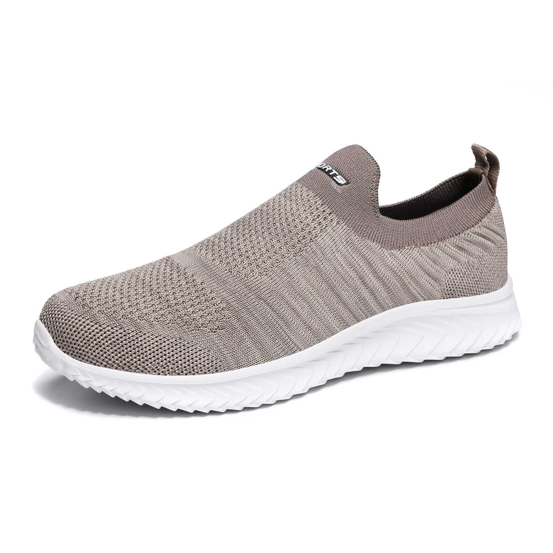 รองเท้าผู้ชายรองเท้าผ้าใบผู้ชาย Flyknit ๆขี้เกียจรองเท้าคู่น้ำหนักเบาถุงเท้ารองเท้าผ้าใบ Zapatillas Hombre รองเท้า