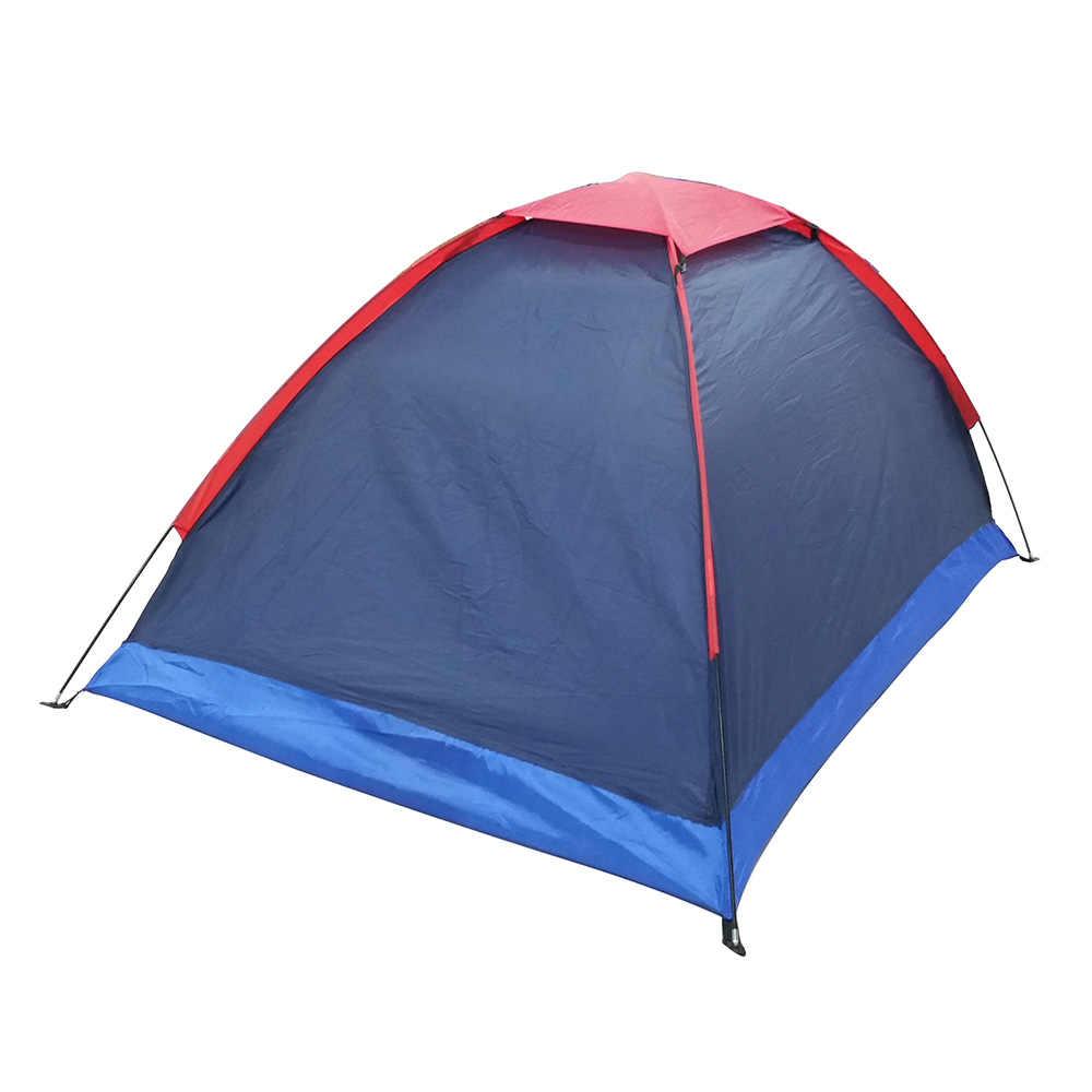 Lixada Campingเต็นท์สำหรับ 2 คนเต็นท์สำหรับตกปลาเต็นท์ที่ตั้งแคมป์กลางแจ้งเดินป่ากับกระเป๋า 200x140x110cm